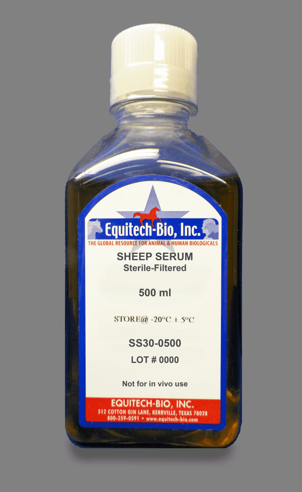 SS30 -- Sterile Filtered Sheep Serum