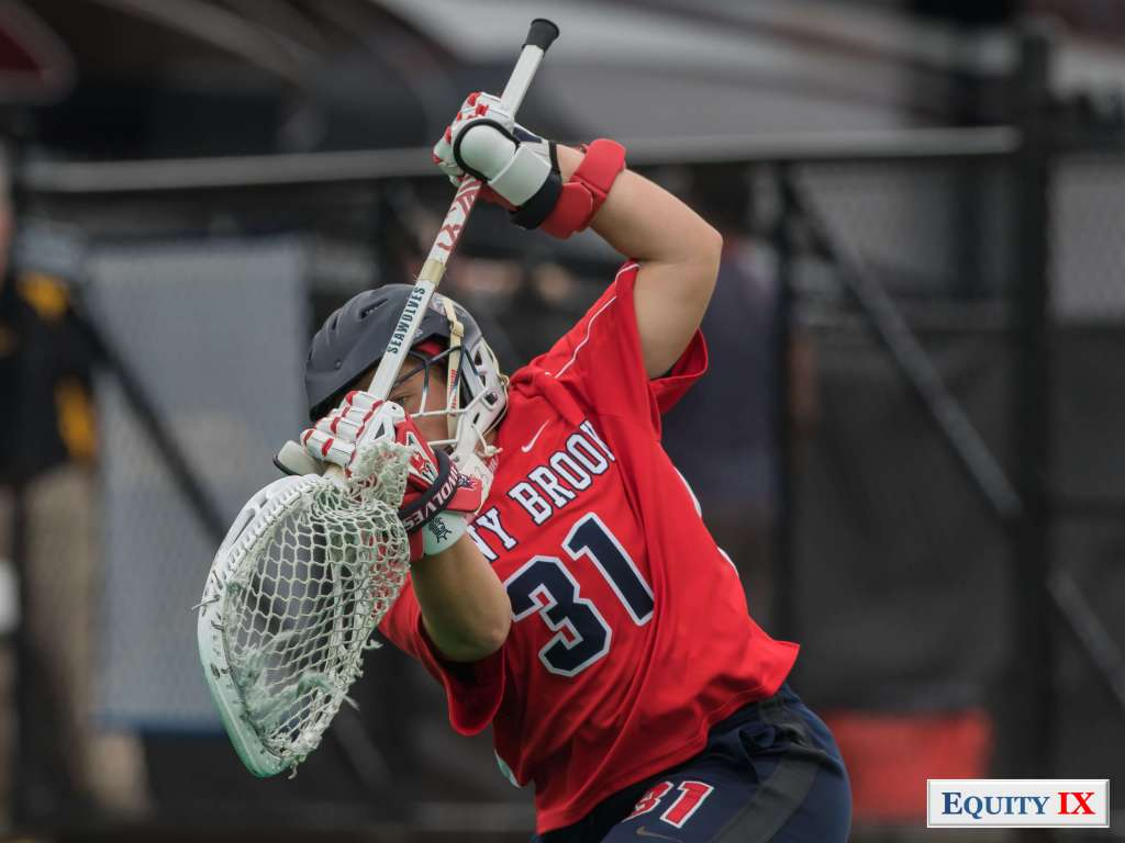 #31 Anna Tesoriero - Stony Brook Goalie © Equity IX - SportsOgram - Leigh Ernst Friestedt