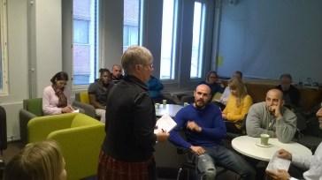 Professor Anja Heikkinen's welcoming words
