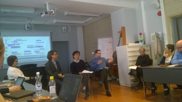 "Panel discussion ""Reforms in HE – perspectives from Europe and South-Korea"" with Zarifis, Heo, Weil and Loogma"