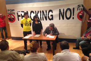 EQUO se compromete a impulsar la prohibición del fracking en la Unión Europea