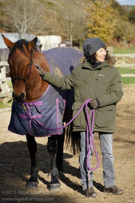 Horse Whispering Alex Jackie Equus Ferus