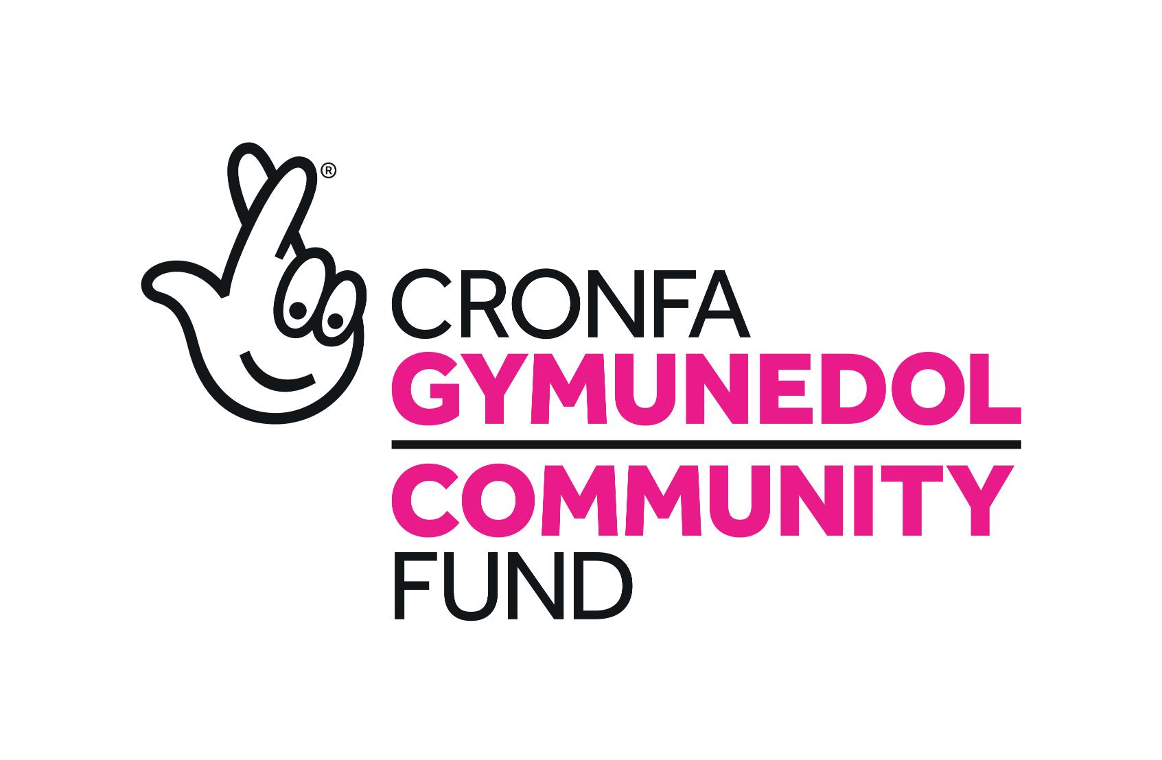 National Lottery Community Fund Logo - Cronfa Cymunedol Loteri Genedlaethol