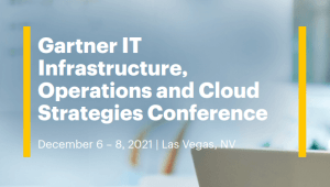 Gartner IT Infrastructure, Operations & Cloud Strategies Summit
