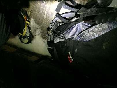 Ore 5:30 del mattino, preparazione prima di lasciare Rifugio Gnifetti