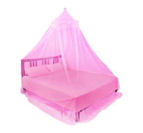 Pearl Bed Net Pink
