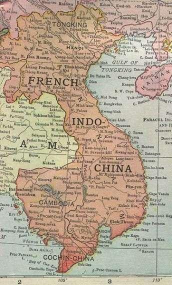 Χάρτης του Βιετνάμ