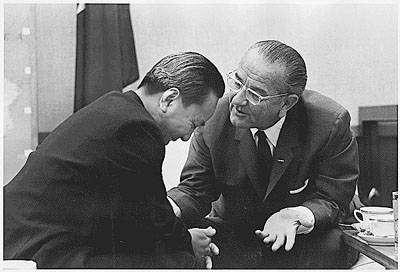 Συνομιλίες Nguyen Van Thieu και προέδρου L.B.Johnson. 1968
