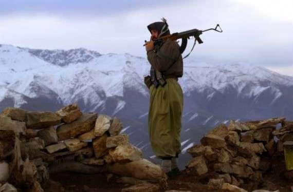 Κούρδος μαχητής Πεσμέργκα.