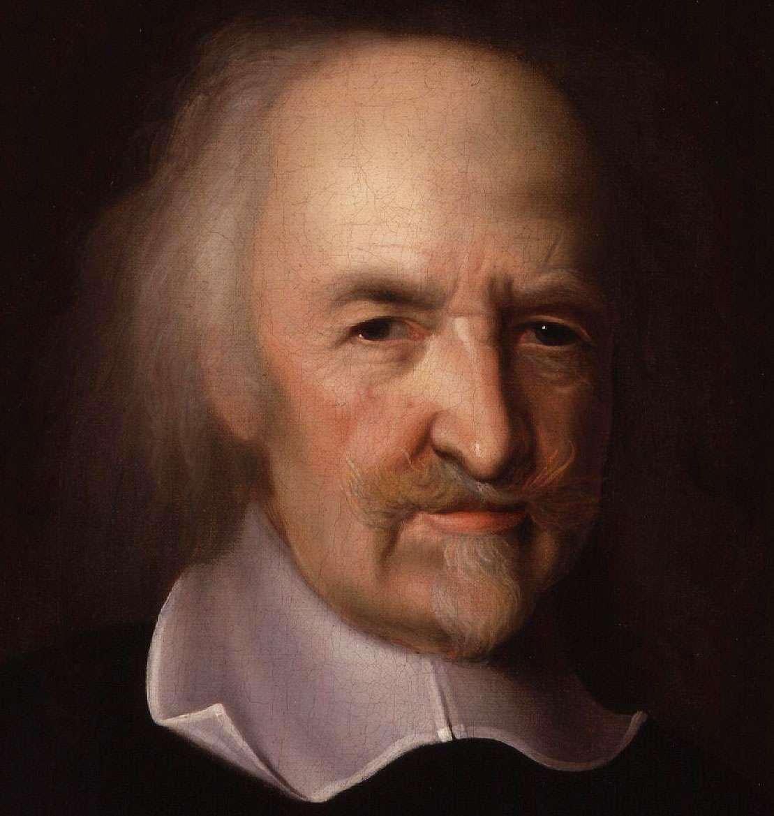 Ο Hobbes απέκρουε τη θεμελιώδη θέση της αριστοτελικής παράδοσης στην πολιτική φιλοσοφία, ότι δηλ. η αρμονική ανθρώπινη κοινότητα οφείλει να στέκει υπό την αιγίδα του Νόμου, θέτοντας το αμείλεκτο έρώτημα: ποιός θα κρίνει, ποιός θα ερμηνεύσει, ποιός θα άποφασίσει τι σημαίνει συγκεκριμένα σε κάθε περίπτωση ο Νόμος αυτός;