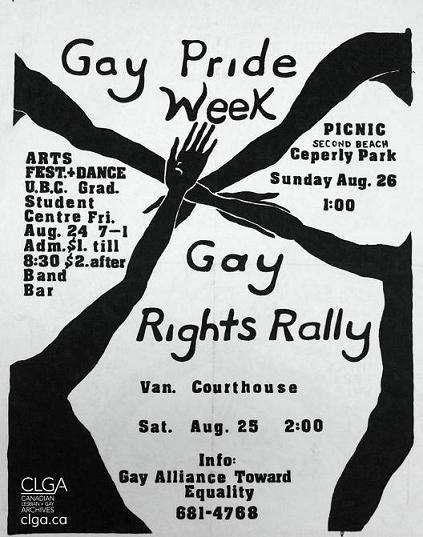 usa-Gay Pride Week Vancouver 1973