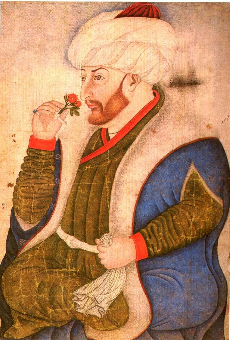 Ο Μωάμεθ Β΄ το 1479, πίνακας του Τζεντίλε Μπελίνι