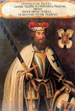 Ο τέταρτος κατά σειρά μάγιστρος του τευτονικού τάγματος, Χέρμαν φον Ζάλτσα