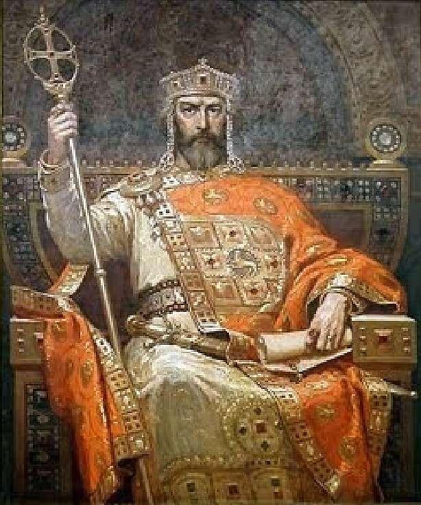 Ο Συμεών Α΄ ο Μέγας (Симео̀н I Велѝки, 864 ή 865 - 27 Μαΐου 927) ήταν τσάρος της Βουλγαρίας από το 893 έως το 927. Symeon I the Great (Simeon I Veliki, 864 or 865 - 27 May 927) was a Bulgarian Tsar from 893 to 927