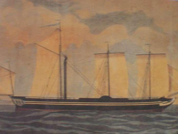 Η Καρτερία ήταν το πρώτο ατμοκίνητο πολεμικό πλοίο στην ιστορία, το οποίο χρησιμοποιήθηκε σε πολεμικές επιχειρήσεις, συγκεκριμένα κατά την Ελληνική Επανάσταση του 1821. Το όνομά του προέρχεται από την αγγλική ονομασία 'Perseverance'. Ήταν ταυτόχρονα ατμόπλοιο και ιστιοφόρο.