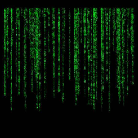 Matrix-style screensaver in R | R-bloggers