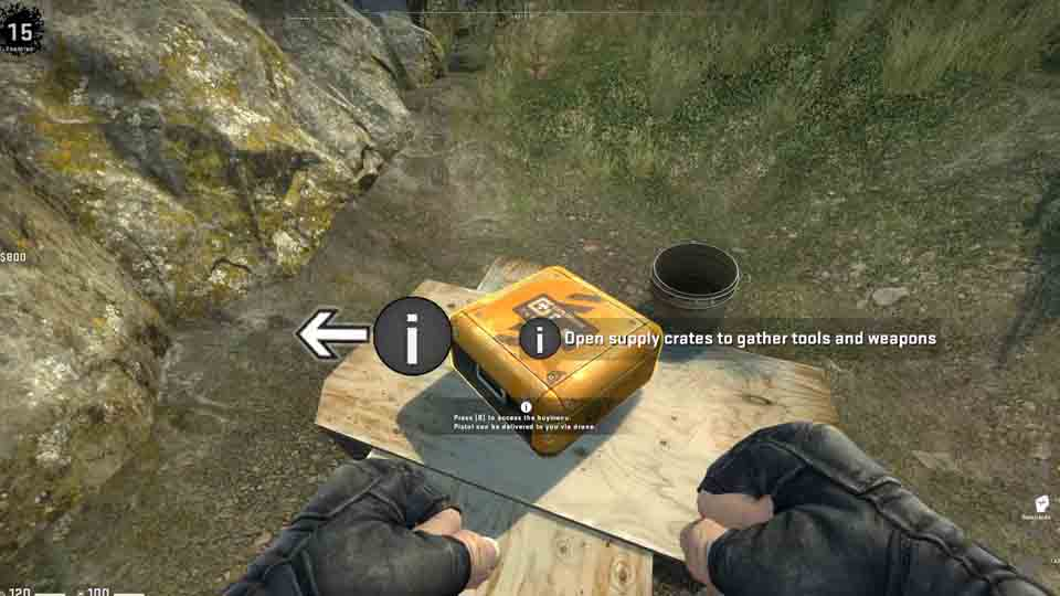 First Impressions of CS:GO's Battle Royale Mode: Danger Zone