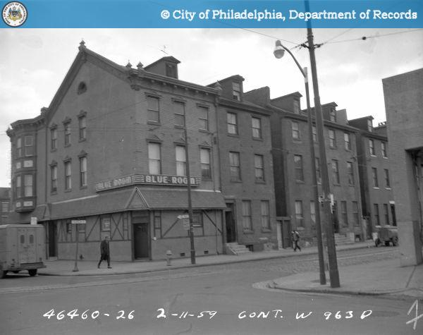 Contract W963D - East Side of Franklin Street from Willow Street to Spring Garden Street: S.E. [Southeast] Cor[ner] - Franklin and Spring Garden Streets.