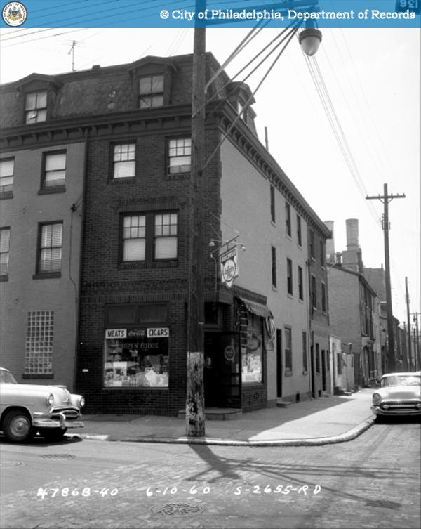 Contract S-2655-RD - 9th Street and Spring Garden to 10th Street and Buttonwood Street: Southeast Corner 9th Street and Buttonwood Street.