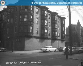 13th and Green Streets, 1960 (via http://www.phillyhistory.org/PhotoArchive/Detail.aspx?assetId=106153)