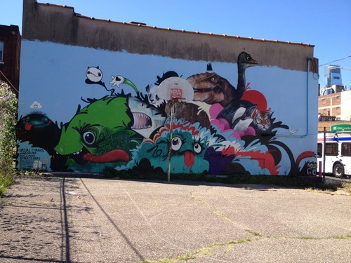 Lets take a minute to soak in this great NoseGo mural on 12th and Ridge at PhillyMoCA because it will be gone soon.