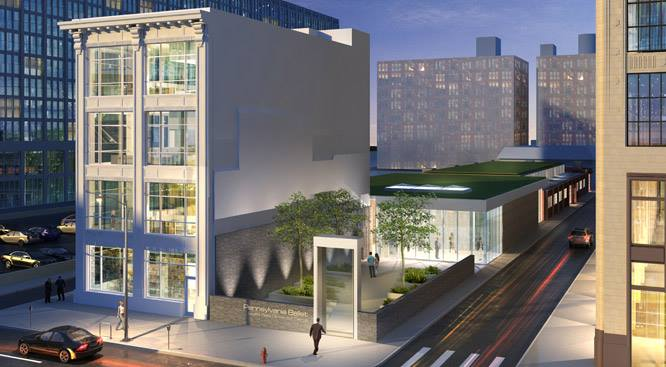 Pennsylvania Ballet made a historical move into the Louise Reed Center for Dance on North Broad Street this year. This new facility will take us into our next 50 years. #paballet50
