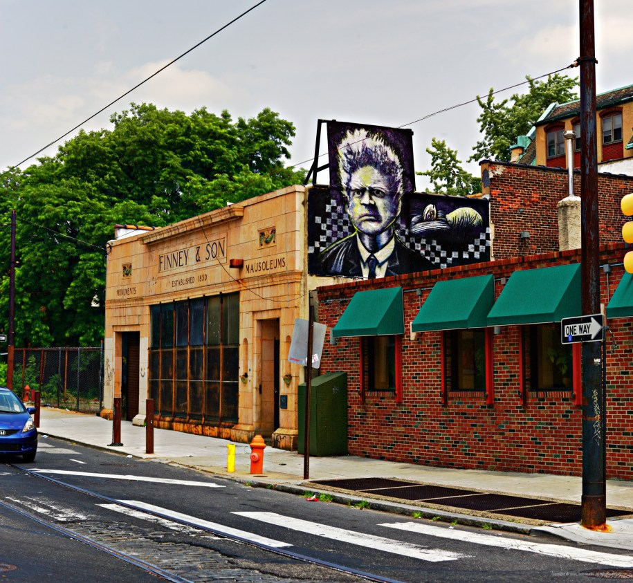 One-time tombstone showroom now regular haunt for creepy-film buffs