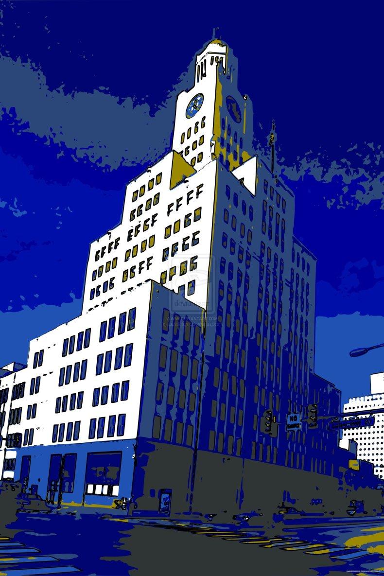 Blue News by LandMarrx on deviantART