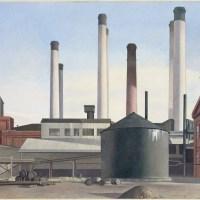 "Tracing the Eraserhead Esthetic: Sheeler, Charles - ""Doylestown House—The Stove"" 1917"