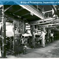 Rotogravure Building - Press Room - Project: 400 - 440 North Broad Street - Elverson Building (Inquirer Building)