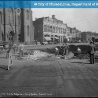 Southeast Corner of Ridge Ave and Spring Garden St Sewer