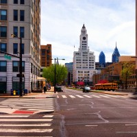 Panorama 1553_blended_fused Broad and Spring Garden Street Flickr