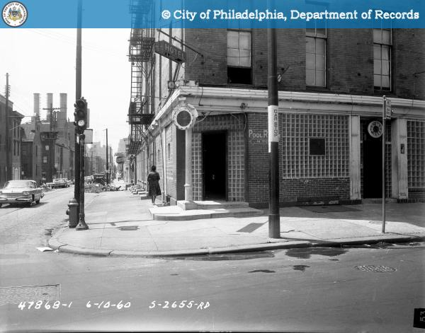 Contract S-2655-RD - 9th Street and Spring Garden to 10th Street and Buttonwood Street: Southwest Corner 9th Street and Spring Garden Street.
