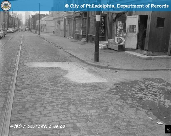 Contract S - 2655 - R.D. - 9th Street; Buttonwood Street to Spring Garden Street: Southwest Corner 9th Street and Nectarine Street.
