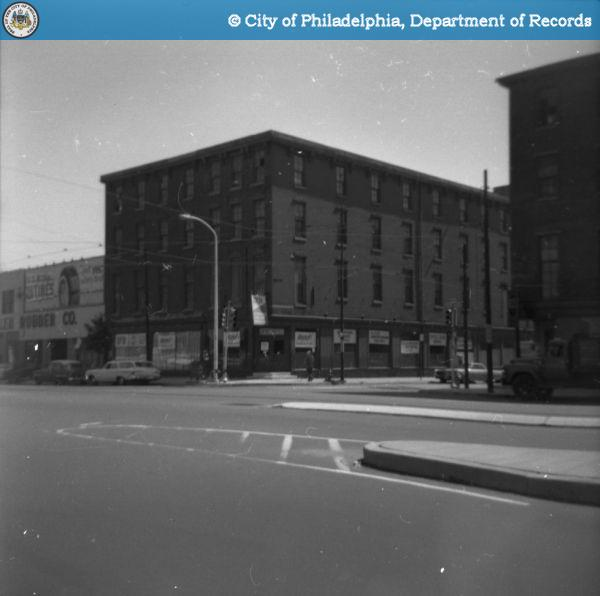 Various properties taken by the Historical Commission. 1963 E.I. 826-830 Spring Garden Street.