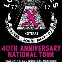 X - 40th Anniversary - Tickets - Underground Arts - Philadelphia, PA, September 22, 2017 | Ticketfly