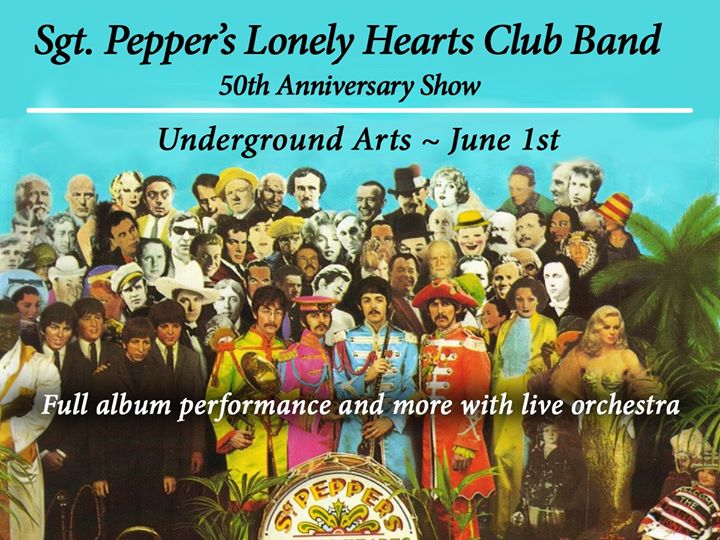 Sgt Pepper's Lonely Hearts Club Band 50th Anniversary Tribute