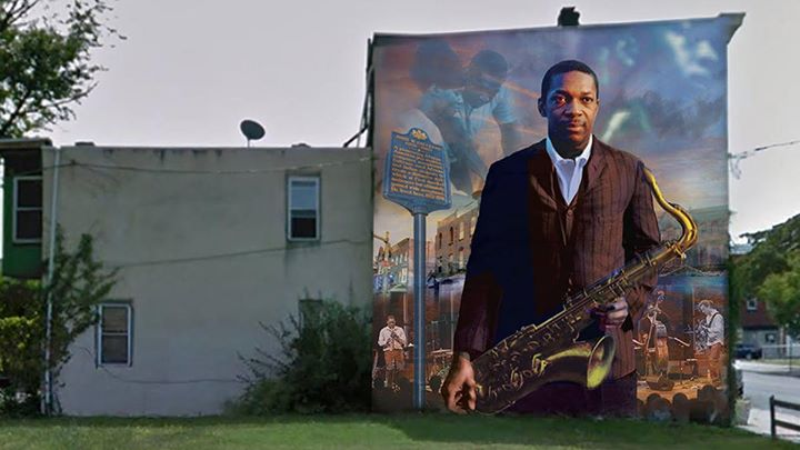 Paint Day: John Coltrane Mural
