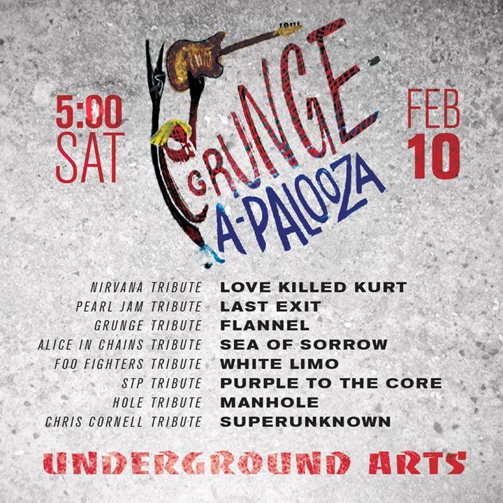 Grunge-A-Palooza Winterfest at Underground Arts
