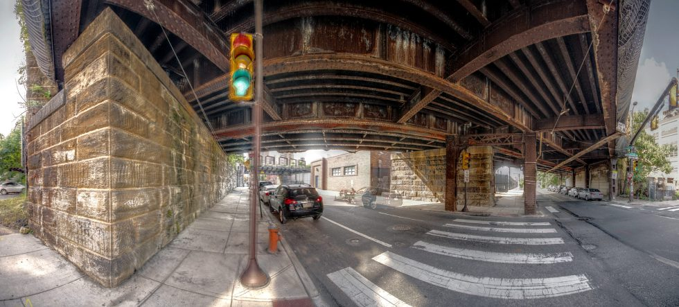 Reading Viaduct 11th and Callowhill Streets Philadelphia, PA Copyright 2019, Bob Bruhin. All rights reserved.