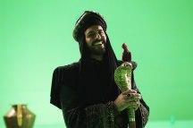 Jafar y loro de cartón