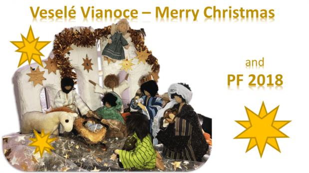 Veselé Vianoce Merry ChristmasHNY 2018