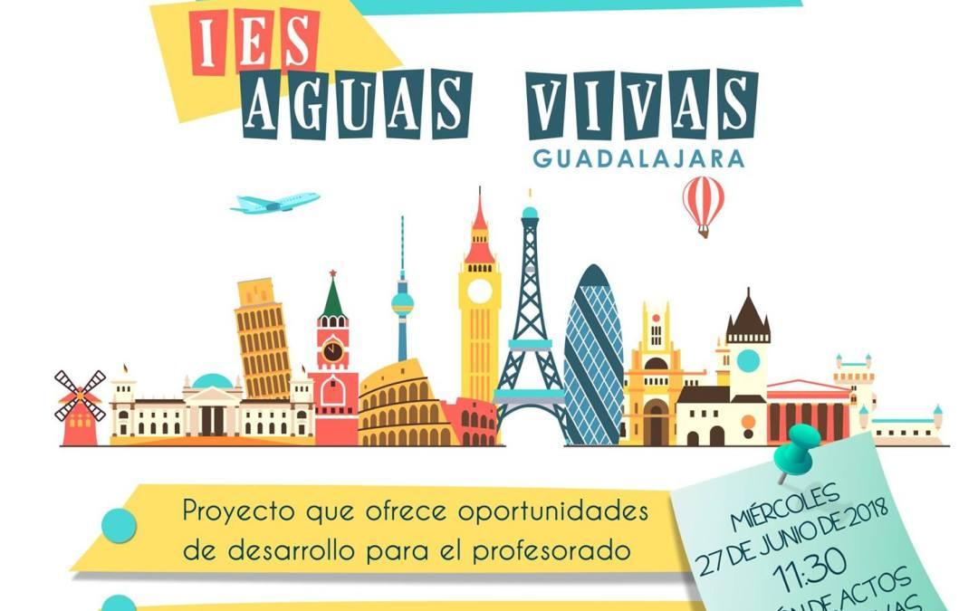 1ª Jornada de difusión Erasmus+ Escolar KA10 IES AGUAS VIVAS