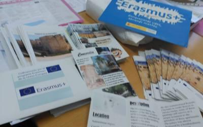 Preparándonos para la 1ªReunión de Transmovilidad de Passport to Europe en nuestro IES