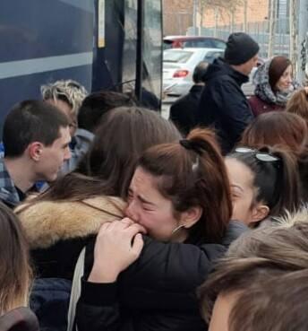 «Os echaremos de menos, hasta que os volvamos a encontrar»