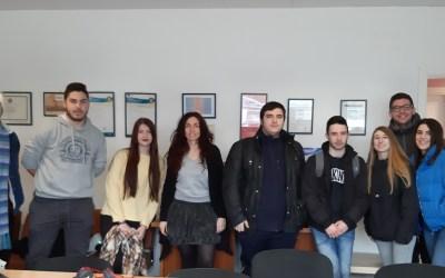 penúltima reunión de seguimiento del alumnado de CFGS del proyecto Erasmus KA103