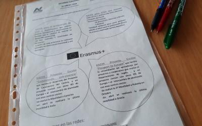 Difundiendo el Claustros nuestros proyectos E+