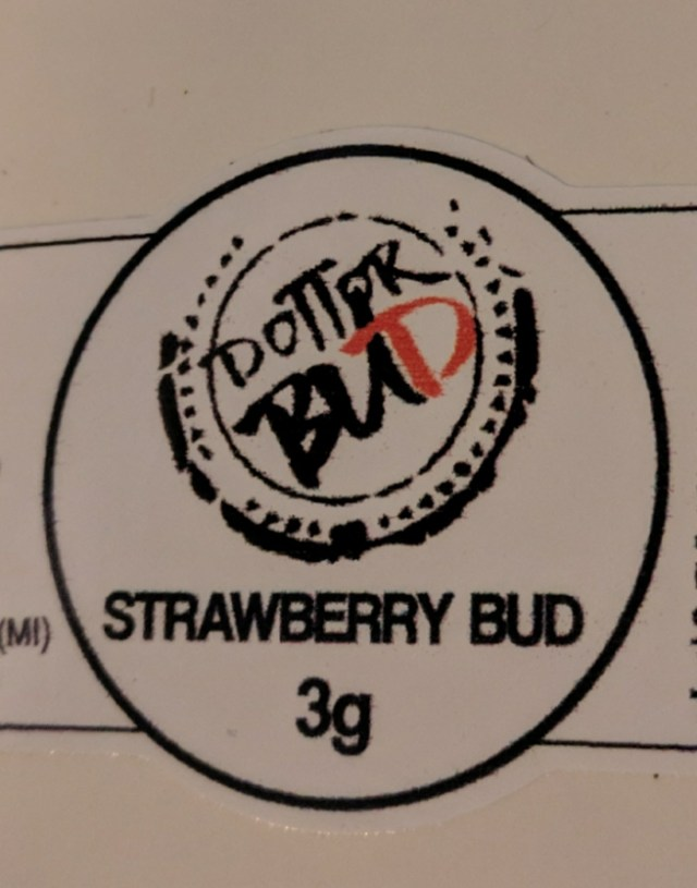 Canapa legale di strawberry bud