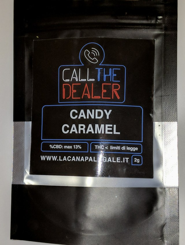 Recensione Call The Dealer Candy Caramel