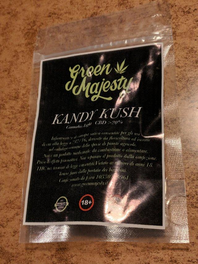 Bustina di Kandy Kush di Green Majesty
